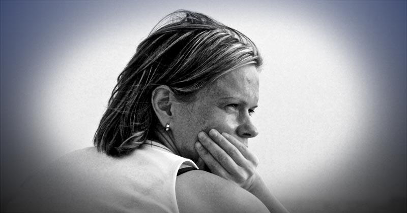 pessimist woman
