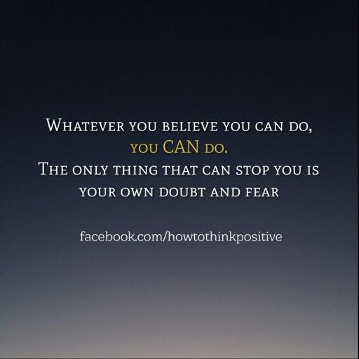 Our beliefs can be roadblocks
