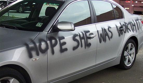 cheater's car