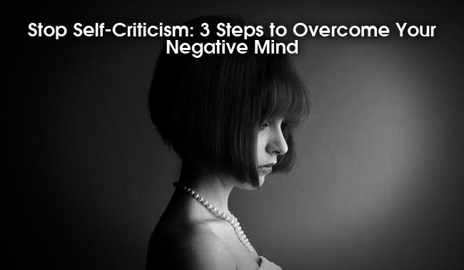 overcoming self-criticism