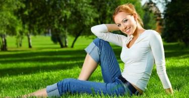 joyful woman living with purpose
