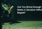 sitting alone in regret