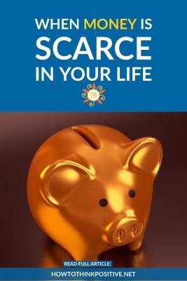 When money is scarce