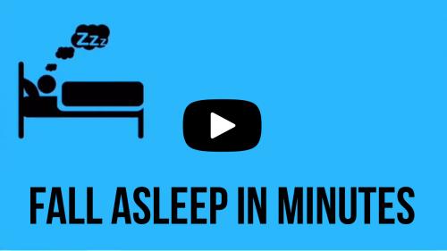 fall asleep in minutes